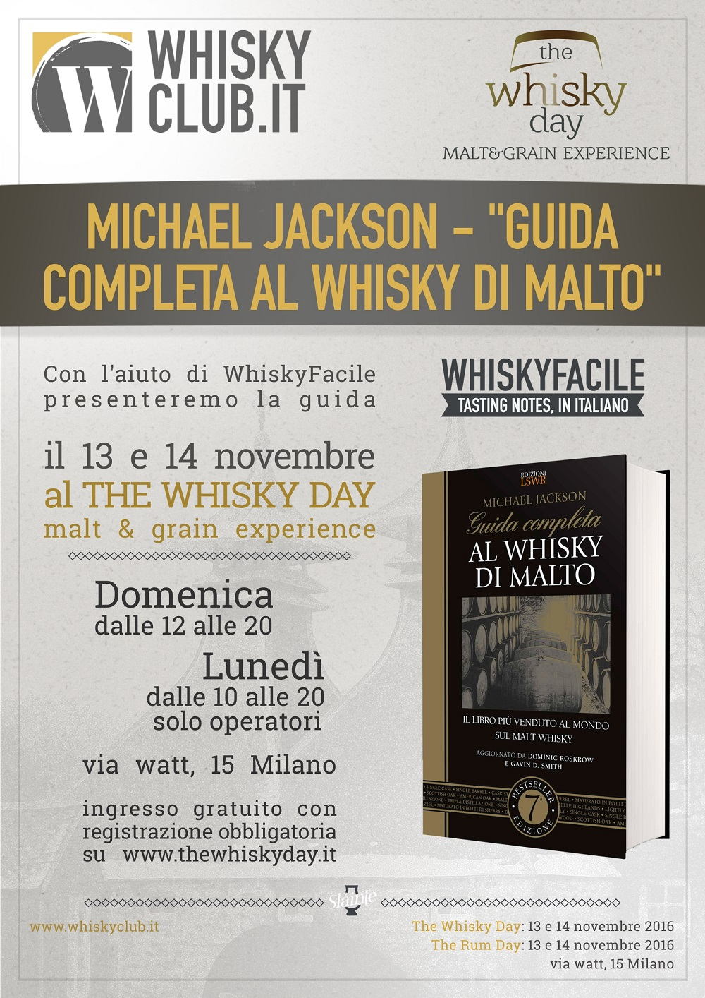 The Whisky Day 2016