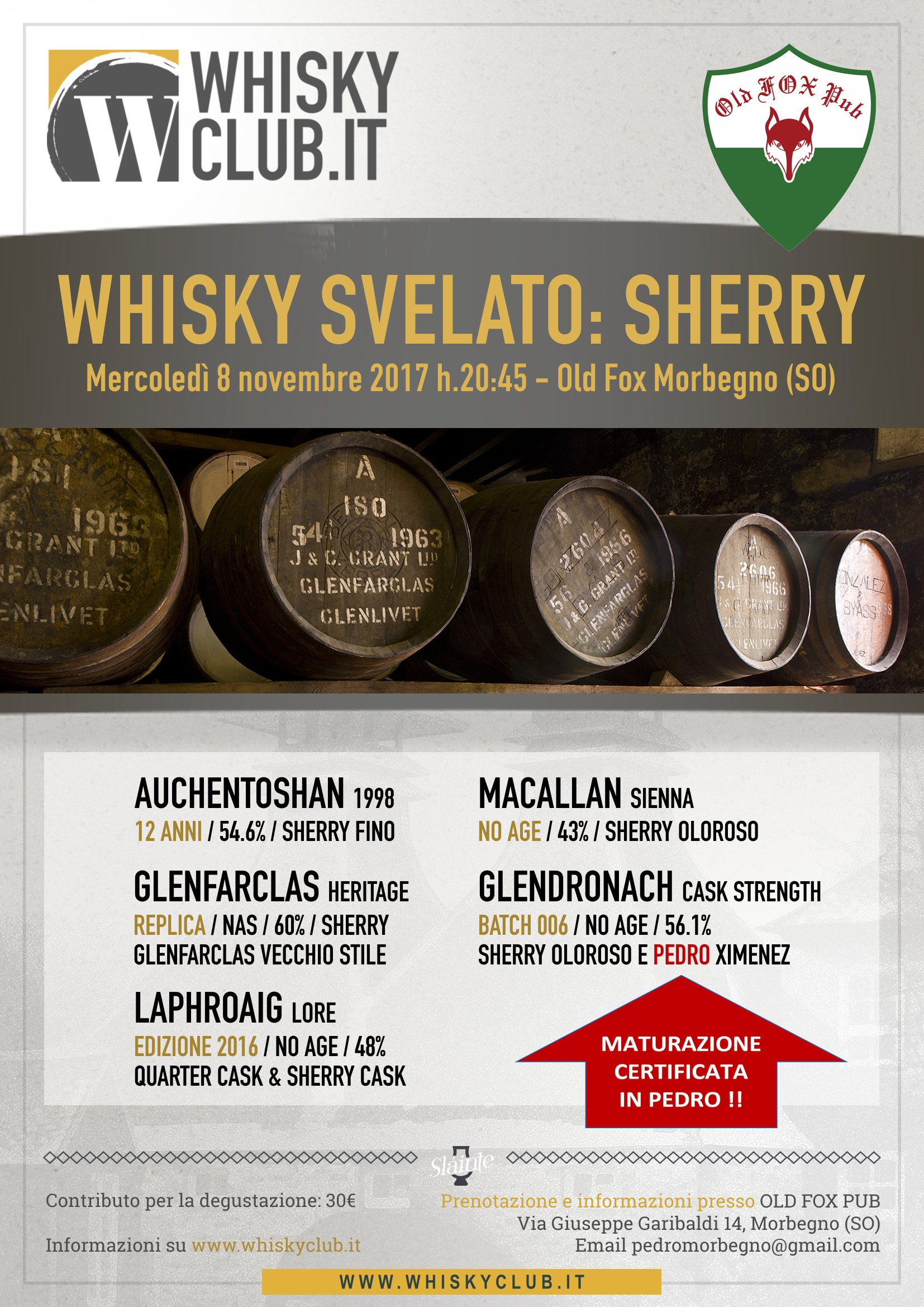 171108 Old Fox Morbegno Sherry
