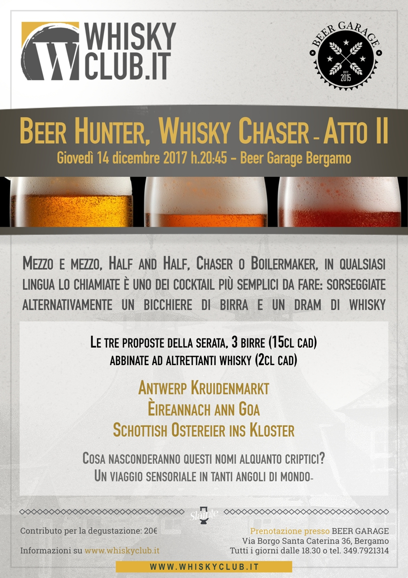 Beer Hunter Whisky Chaser II