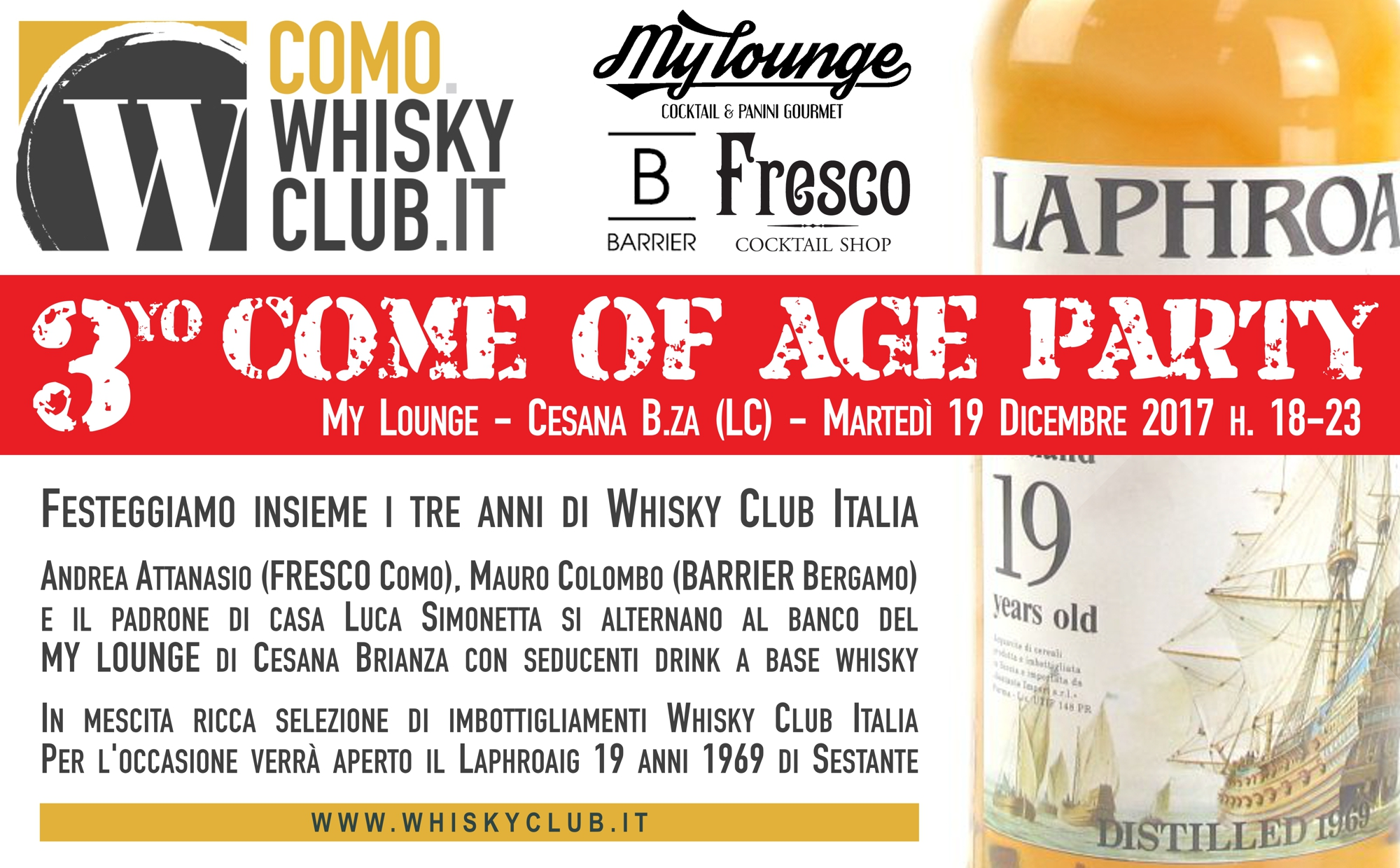Come of age party